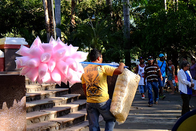 Cotton candy and popcorn...