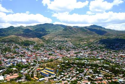 View cross on Cerro de la Cruz