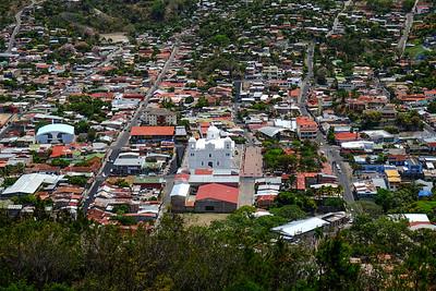 View over Matagalpa from El Calvario
