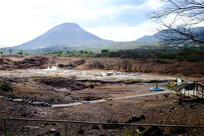 View of Volcano Telica .