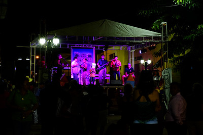 Music is common in the square.