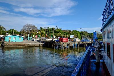 Ferry pier.