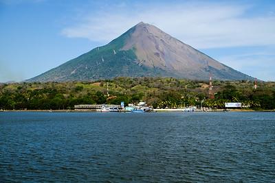 Impressive, still active, volcano.