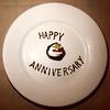 25th Anniversary dessert