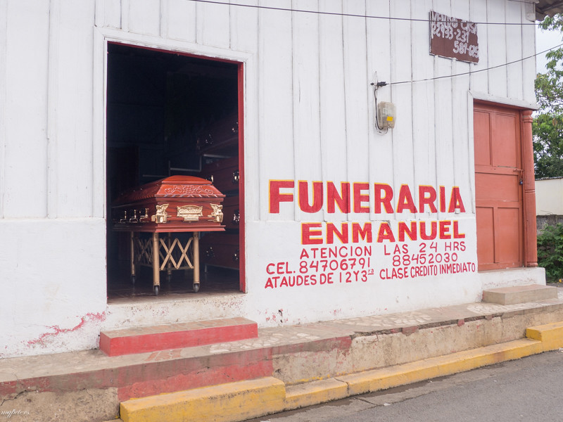Casket take out and delivery...