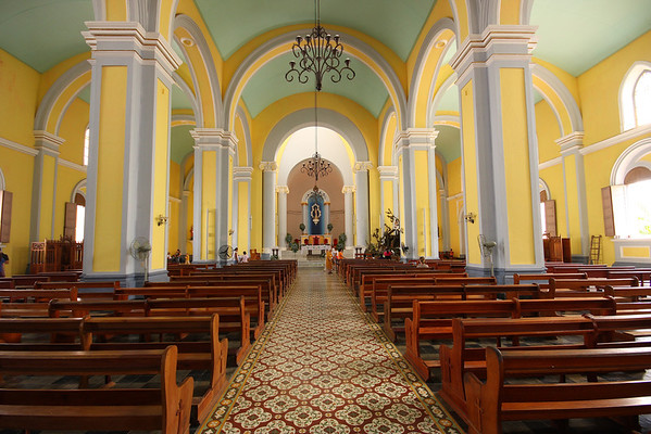 Inside Main Cathedral