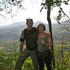 Montibelli - Karl and Jackie with Volcan Masaya in the background