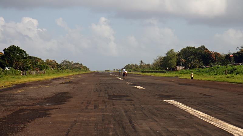 Big Corn Island - Multi-use airstrip