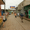 San Carlos - A street scene in San Carlos, the town at the source of the Rio San Juan