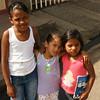 Granada - Schoolgirls met while walking to the Complejo Turistico Cocibolca (lakeshore tourist area)