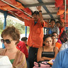 Rio San  - Riding the river taxi from San Carlos to Sabalos Lodge