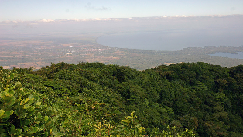 Granada - View from the top of Volcan Mombacho (Volcan Mombacho Nature Reserve)