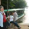 Rio San Juan - Last day at Sabalos Lodge, waiting for the water taxi