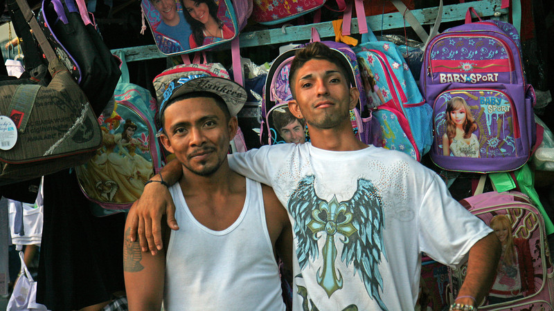Granada - Street market shopkeepers