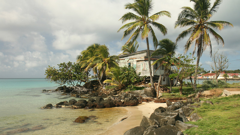 Big Corn Island - Rustic beach house on the west side if the island