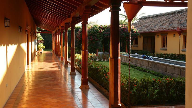 Granada - Interior courtyard of an older building