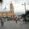 Nicaragua 2011: Granada - Parque Colon and the Catedral Nuestra Senora de la Asuncion
