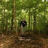 Nicaragua 2011: Selva Negra - Hiking a trail at Selva Negra Mountain Lodge