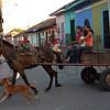 Nicaragua 2011: Granada - Street scene near Parque Colon