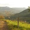 Nicaragua 2011: Selva Negra - Country road on Selva Negra estate