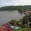 Nicaragua 2011: Rio San Juan - A view of the town of El Castillo from the top of the fort