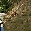 Nicaragua 2011: Montibelli - Alejandro with pre-Columbian petroglyphs