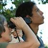 Nicaragua 2011: Montibelli - Alejandro and Jackie doing some birdwatching