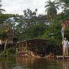 Nicaragua 2011: Rio San Juan -Welcoming committee at Sabalos Lodge