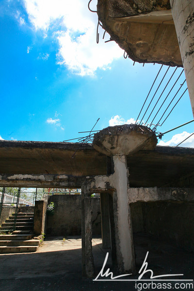 The Mazmorras, a former prison where current Nicaraguan President Daniel Ortega and many other political prisoners were tortured during the Somoza regime, Parque Histórico Nacional Loma de Tiscapa, Managua