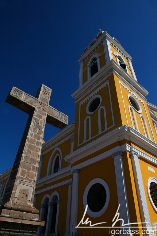 The Cathedral of Granada, Bell tower and Cross