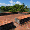 Roof of the fort of San Pablo built to protect the city from Pirates in the 18th century, Isletas de Granada
