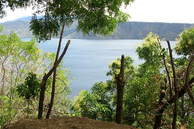 Laguna de Apoyo, a volcanic crater lake near Granada