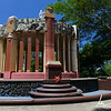 War memorial in the Parque Central of Managua