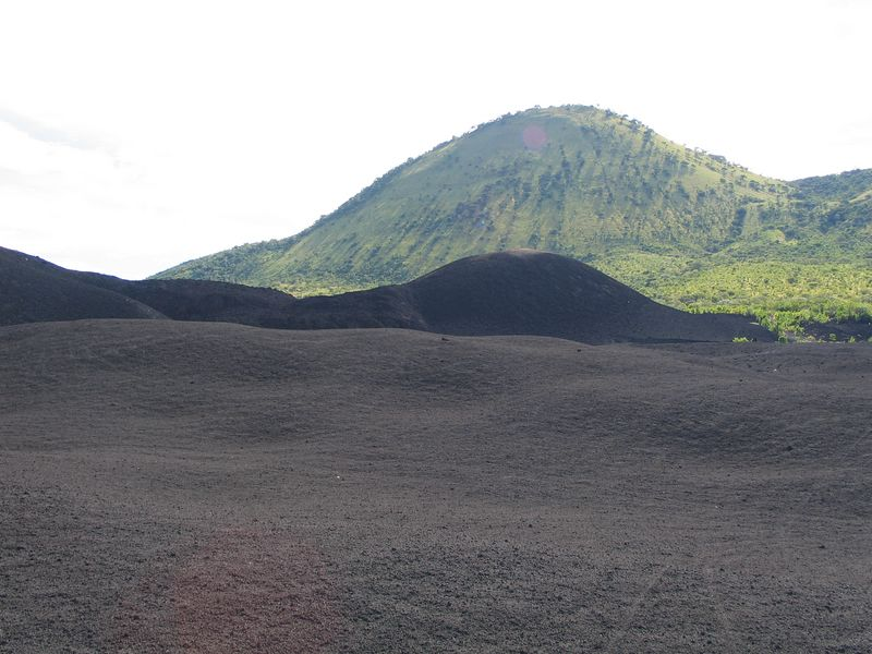 This was taken at the base of Volcano Cerro Negro.