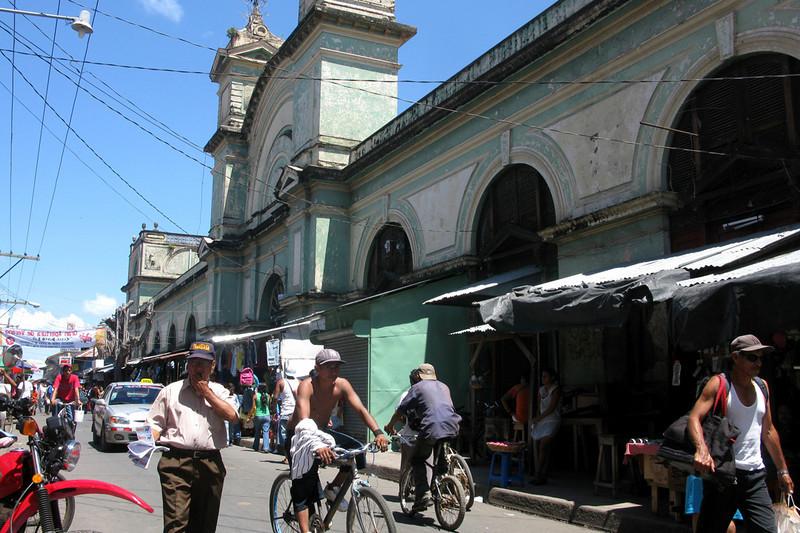Busy Granada street
