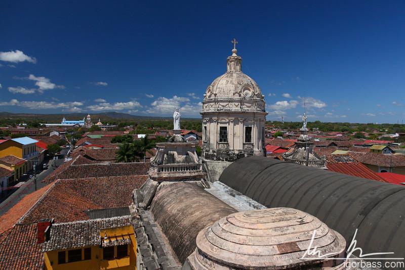 Roof of La Merced Church, Granada