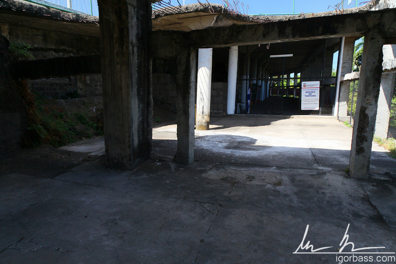 The Mazmorras, a former prison where current Nicaraguan President Daniel Ortega and many other political prisoners were tortured during the Somoza regime, Parque Histórico Nacional Loma de Tiscapa, Managua