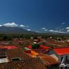 Volcano Mombacho, view from La Merced Church, Granada