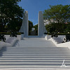 Formerly Roosevelt monument for the US President, this is now a monument to the martyrs of the revolution, Parque Histórico Nacional Loma de Tiscapa, Managua