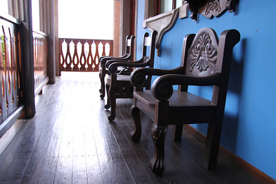 Typical chairs in Nicaragua.  Leon, Nicaragua