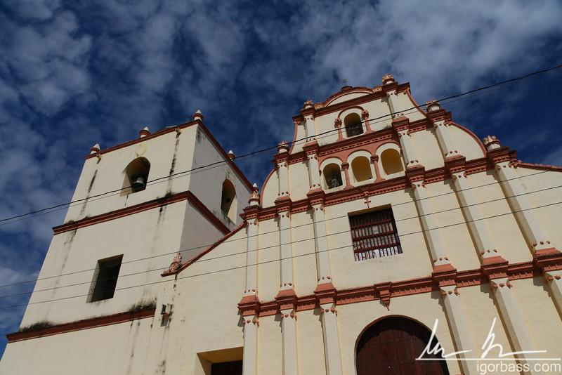 Iglesia de San Juan Bautista de Subtiava - one of the oldest colonial churches in Leon
