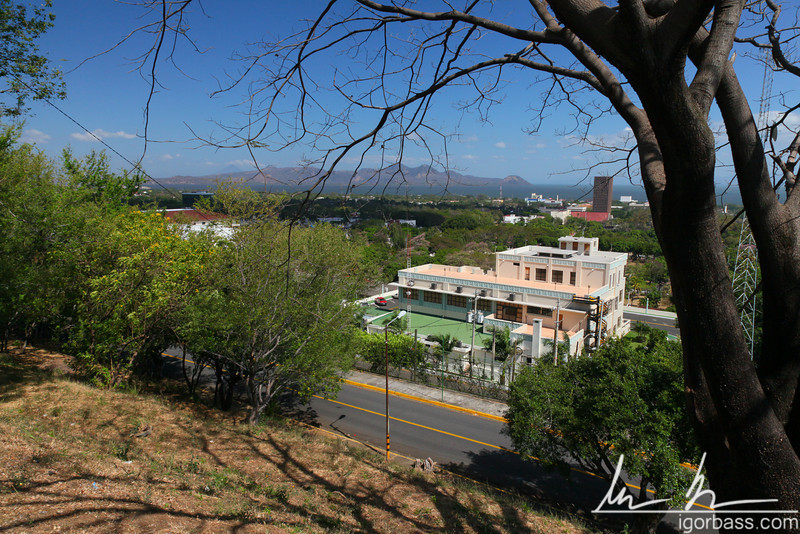 View from the Parque Histórico Nacional Loma de Tiscapa, Managua