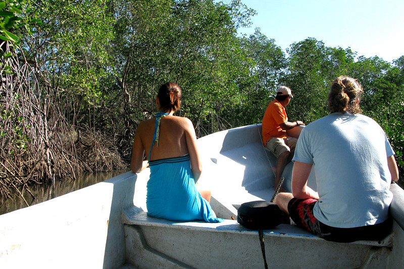 With some newfound friends we booked a tour through the Juan Venada Reserve, a wildlife/bird reserve.