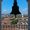 View from bell tower, La Merced Church, Granada