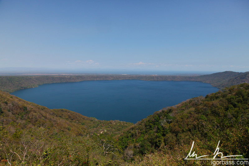 View of Apoyo Lagoon, Mirador de Catarina