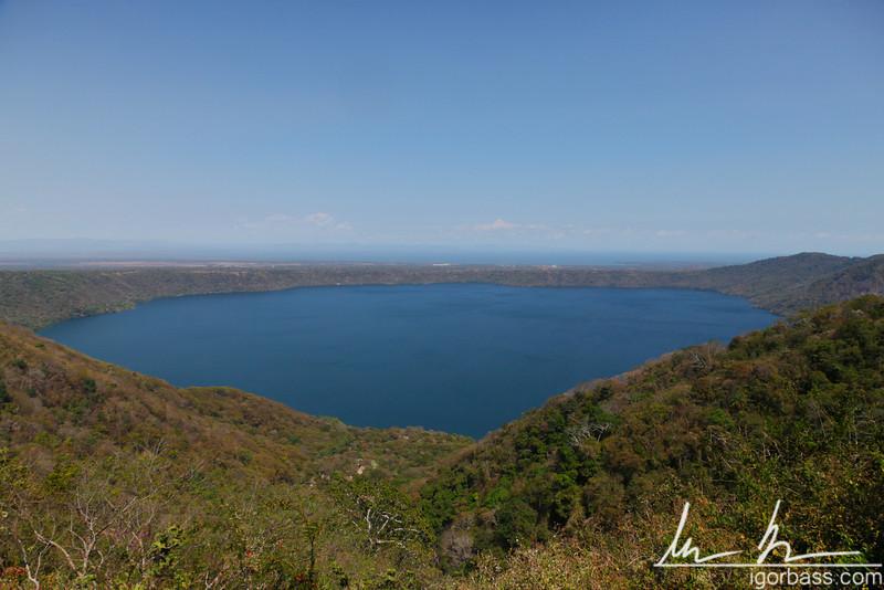 View of Apoyo Lagoon, Mirador de Catarina