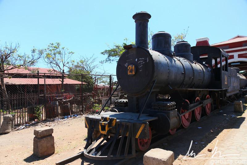 The final train, old railway station, Granada