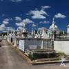 Grenada cemetery path