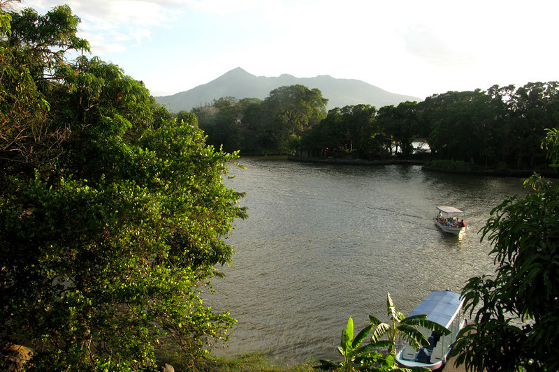 View from a fort on one of the isletas