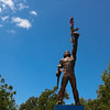 Nameless Guerrilla Soldier - Monument to the heroes of the revolution, honoring the Sandinista fighters, Managua